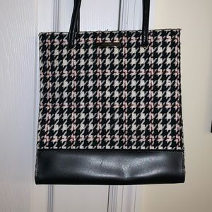 Vintage 90s Houndstooth Nine West bag